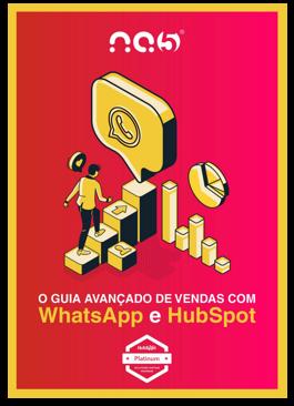 eBook: O Guia Avançado de Vendas com WhatsApp e HubSpot